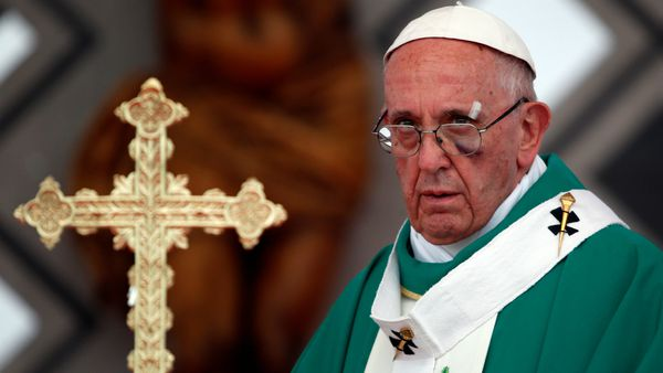 El papa Francisco enviará una primera donación de 150.000 dólares a México