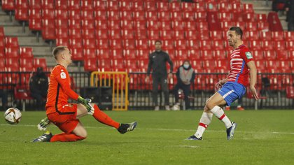 Soldado marcó el 2 a 0 (Reuters)