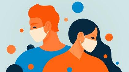 Tras idas y vueltas, la OMS finalmente reconoció que el coronavirus puede contagiarse a través del aire (Shutterstock)