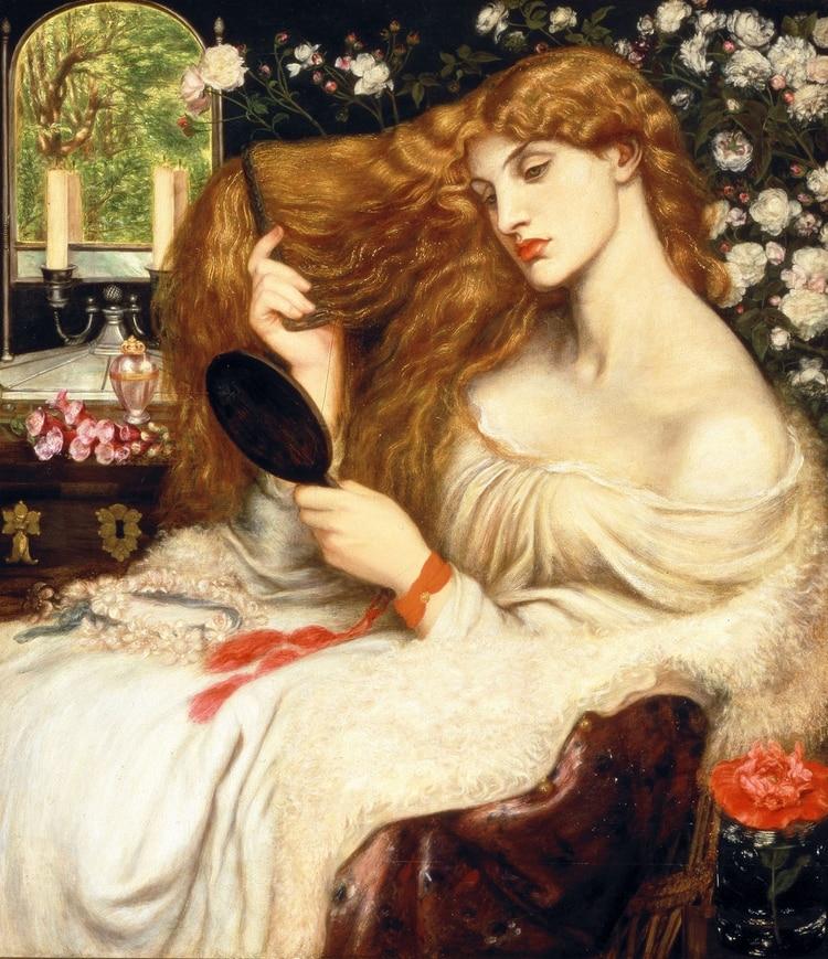 Lady Lilit, de Dante Rosseti (1868)