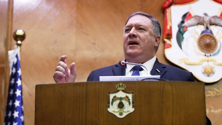 Mike Pompeo, secretario de Estado norteamericano (Reuters)