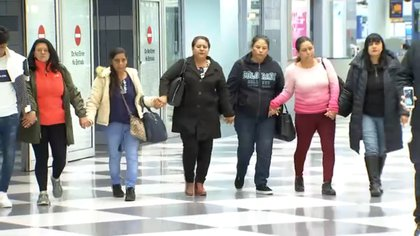 Los parientes de la víctima y su esposo cruzaron la frontera gracias a la ayuda de LULAC y de organizaciones de Guerrero y Aguascalientes (Foto: Telemundo Chicago)