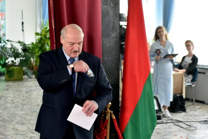Alexander Lukashenko, presidente de Bielorrusia desde 1994, es considerado el último dictador de Europa (Sergei Gapon/Pool via REUTERS)