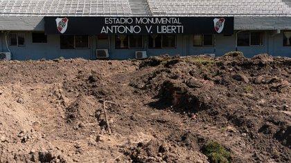 El estadio presentará una imagen totalmente renovada. Y deja abierta la puertas para nuevas obras en pos de ampliar la capacidad (Franco Fafasuli)
