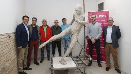 La figura de arte en honor a Andrés Iniesta que se presentará en 2021