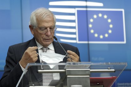 Josep Borrell, el alto representante de la Unión para Asuntos Exteriores. EFE/EPA/OLIVIER HOSLET / POOL/Archivo