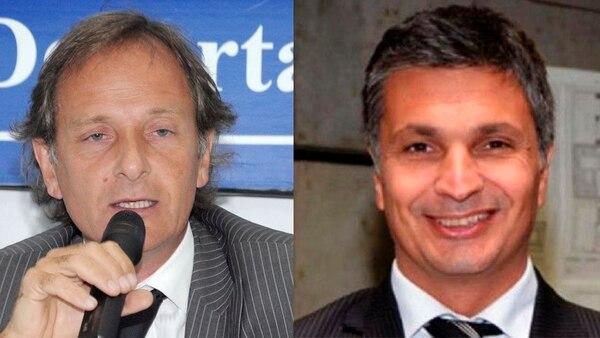 Jorge Delhon y Pablo Paladino