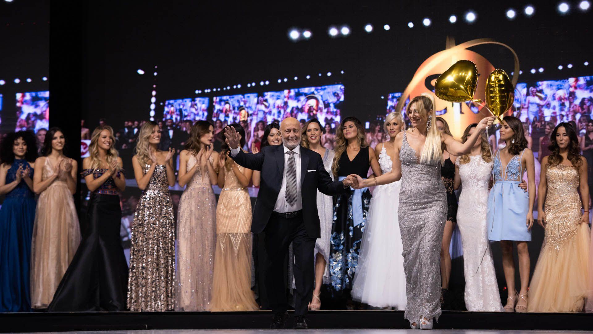 El director Mauricio Wachs y la directora creativa Elizabeth Yelin dieron el cierre a la primera jornada de Silkey Mundial Salón Internacional Moda & Coiffure 2019