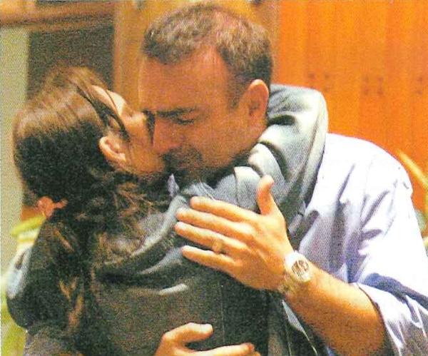 Pavesio fue el primero en llegar al Hospital Fernández, apenas supo que Juan estaba internado allí (Foto: Revista Gente)