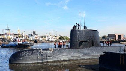 El submarino ARA San Juan (Reuters)