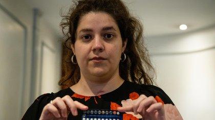 Juana Stinchi se recuperó de una enfermedad provocada por las pastillas anticonceptivas y el cigarrillo.
