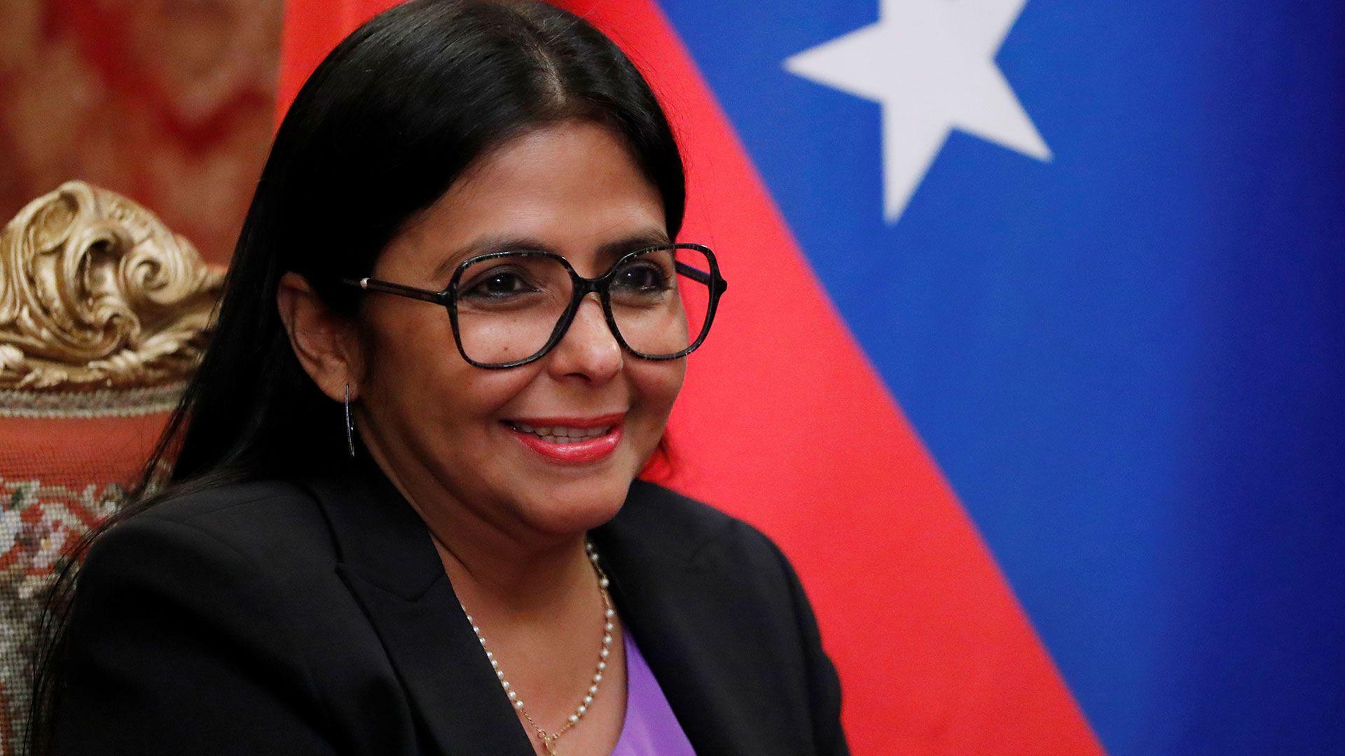 Delcy Rodríguez (REUTERS/Evgenia Novozhenina)