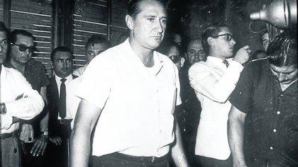 """Augusto Vandor, """"El Lobo"""", líder de la Unión Obrera Metalúrgica (UOM) era un hombre que por entonces empezaba a acunar el sueño de liderar un peronismo sin Perón"""