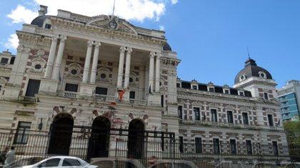 Edificio de la Gobernacion de la provincia de Buenos Aires, en la ciudad de La Plata