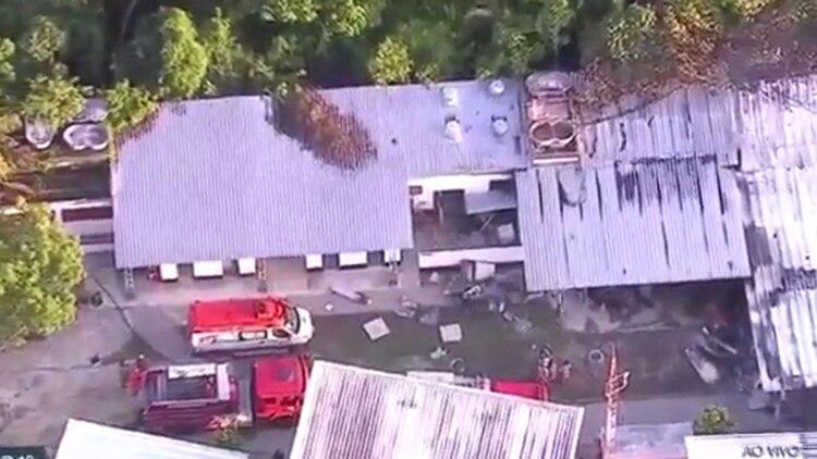 Los bomberos ya controlaron el incendio