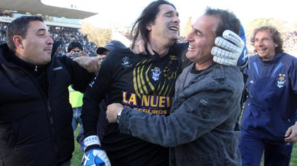 Gastón Sessa, uno de los protagonistas de la recordada Promoción ante Atlético Rafaela (NA)