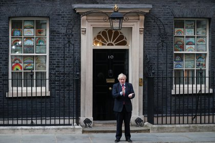 El primer ministro británico, Boris Johnson (Reuters/ Hannah McKay TPX IMAGES OF THE DAY)