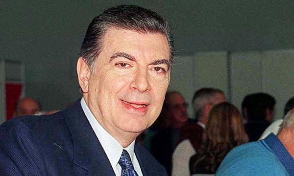 Hugo Santilli, ex presidente de River durante la década de 1980
