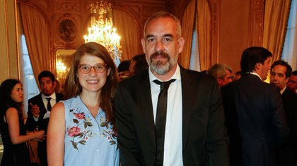 Delfina Rossi y Sergio Woyecheszen.