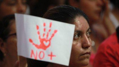 El 92.1% de los casos de violencia sexual contra personas mejores de 18 años fue contra mujeres (Foto: EFE/Ernesto Guzman Jr/Archivo)