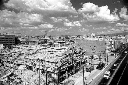 Según cifras no oficiales en el temblor del 85 murieron más de 10,000 personas  (Foto: Archivo)