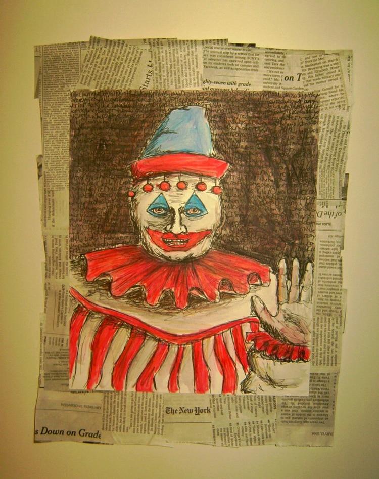Pintura realizada por Gacy (Foto: Wikipedia)