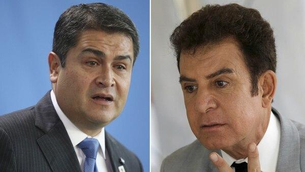 Hernández y Nasralla. (Getty)