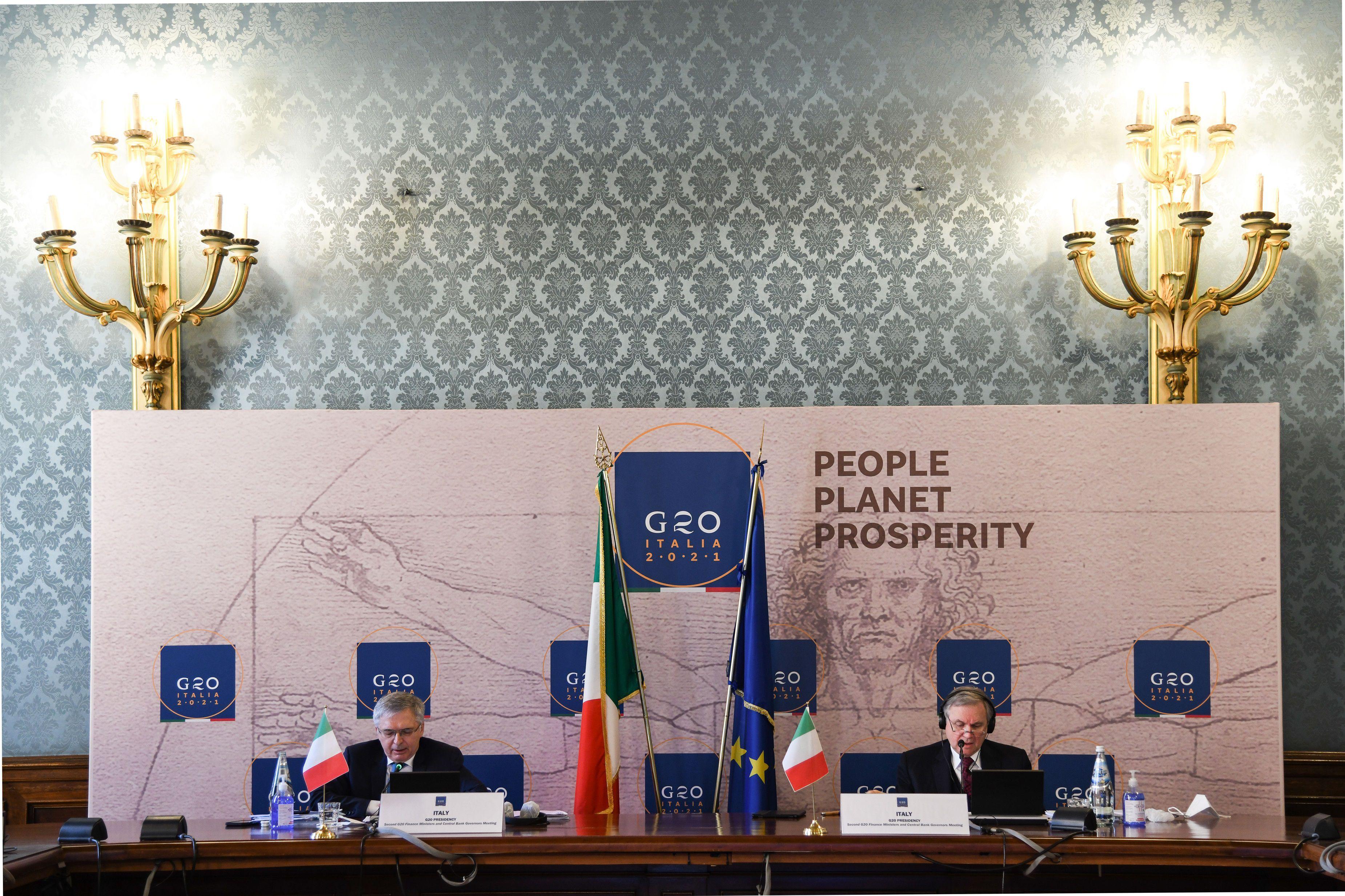 La reunión del G20 de Finanzas de este miércoles (Europa Press)