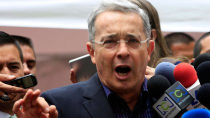 Álvaro Uribe, ex presidente de Colombia