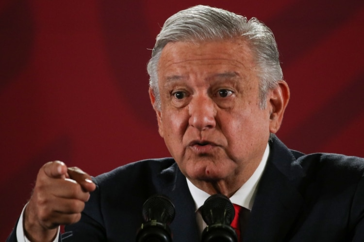 El presidente volvió a confrontarse con el diario Reforma. (Foto: Cuartoscuro)