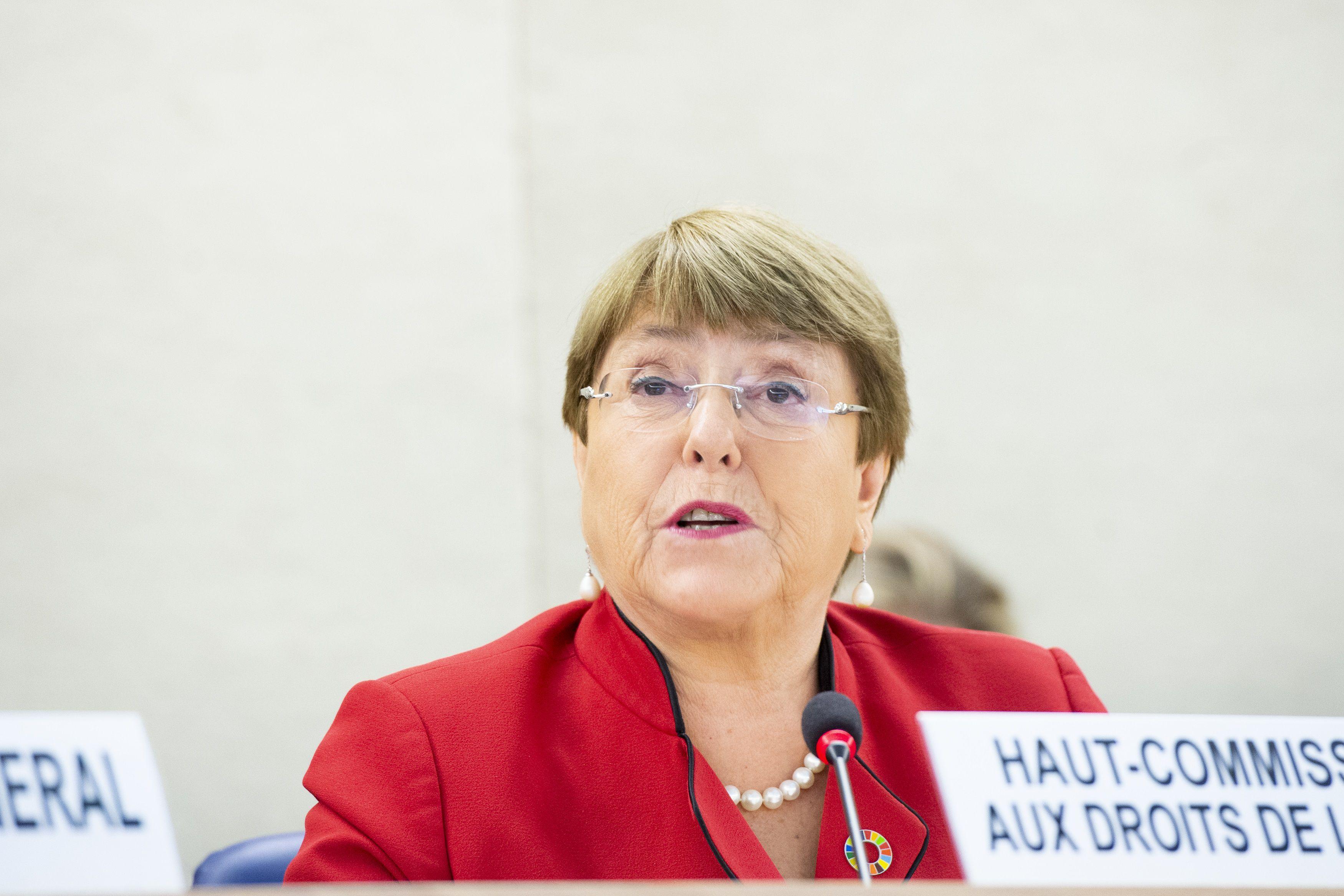 24/02/2020 Michelle Bachelet POLITICA INTERNACIONAL UN PHOTO/VIOLAINE MARTIN