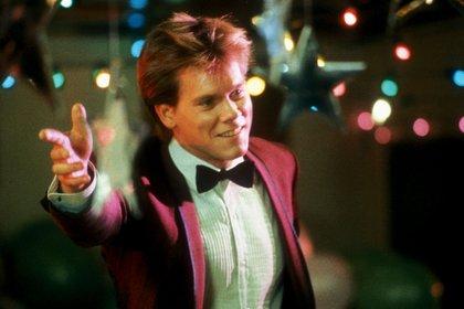 """Kevin Bacon en """"Footloose"""" (1984), bajo la dirección de Herbert Ross (Shutterstock)"""