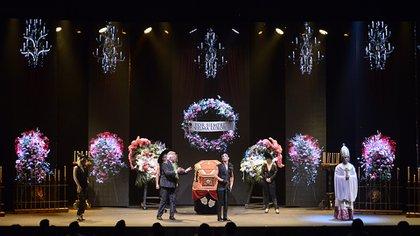 La obra se presenta en el teatro Broadway (Foto: Gustavo Gavotti)