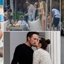 (Grosby) Gerard Butler, Rita Ora, Ben Affleck y Ana de Armas, Anitta