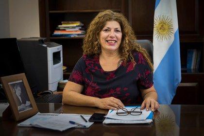 Gabriela Torres, titular de la Secretaría de Políticas Integrales sobre Drogas de la Nación