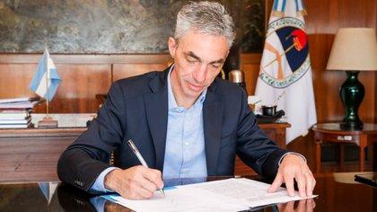 El ministro de Transporte, Mario Meoni