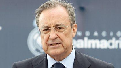 "Florentino Pérez, presidente de la ""Casa Blanca"", en el ojo de la tormenta (Foto: EFE)"