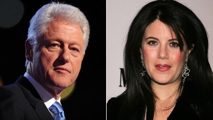 Bill Clinton y Monica Lewinsky.