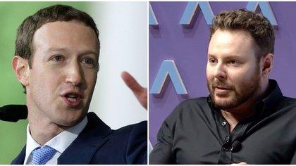 Sean Parker aseguró que en el momento de crear Facebook él y Mark Zuckerberg entendían que explotaban una fragilidad de la psicología humana. (Foto Steven Senne/AP, Axios.com)