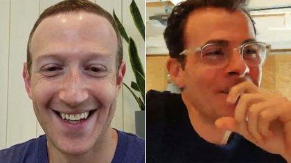 Mark Zuckerberg, CEO de Facebook, y el director de Instagram, Adam Mosseri, conversaron en un vivo esta semana sobre las Live Rooms en donde se podrá apagar micrófono y video