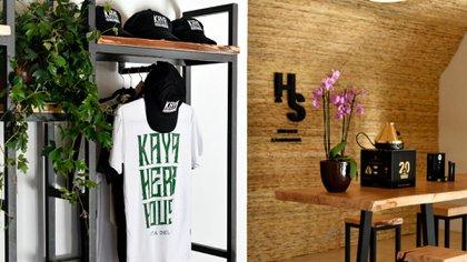 Kaya Herb House, uno de los locales de productos cannábicos en Punta del Este (Gentileza: Ana Grucki)