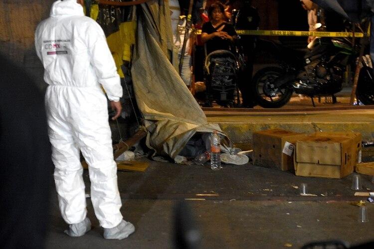 Un hombre fue ejecutado en las calles de la Ciudad de México (Foto: Cuartoscuro)