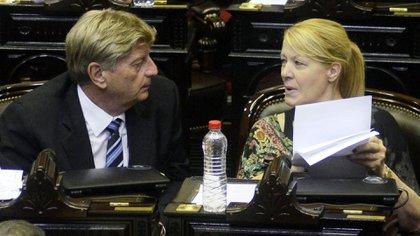 Margarita Stolbizer fue muy crítica de la ley (DyN)