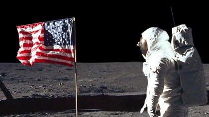 Donald Trump recordó la llegada del hombre a la Luna con un video