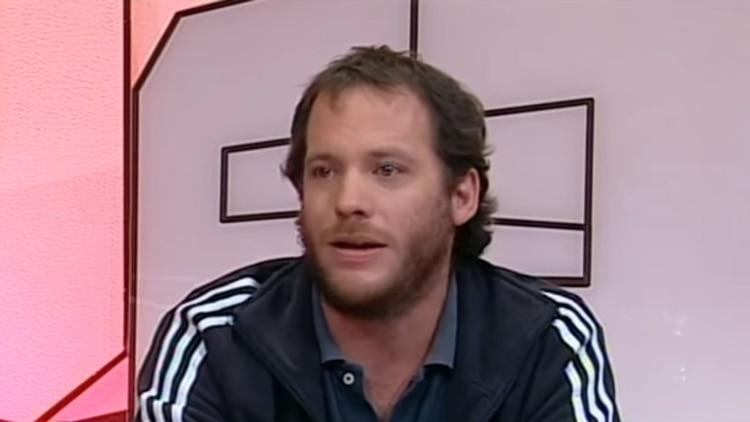 Lucas Carrasco, durante su participación en el programa 678
