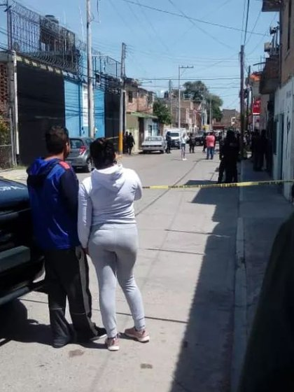 Celaya, Guanajuato. Un negocio de compra-venta de material reciclado fue atacado por un comando (Foto: Twitter)