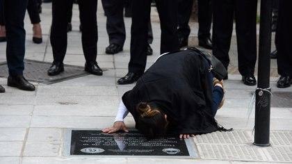 El efectivo de la PFA fue inhumado con honores en el cementerio de Chacarita y ascendido postmortem del grado de inspector al de principal. (Adrián Escándar)