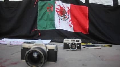 Los periodistas en México han protestado en contra de la situación que viven y padecen a la hora de realizar su trabajo. (Foto: Nacho Ruiz/Cuartoscuro)