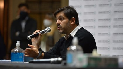 El jefe de Gabinete, Carlos Bianco