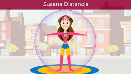 Susana Distancia es la heroína de la 4T contra el contagio directo de coronavirus (Fotografía: Secretaría de Salud)